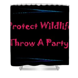 Party 4 Shower Curtain by Aimee L Maher Photography and Art Visit ALMGallerydotcom