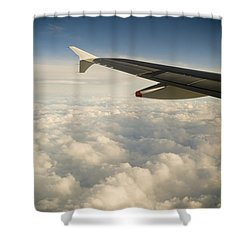 Passenger View Shower Curtain by Tim Hester