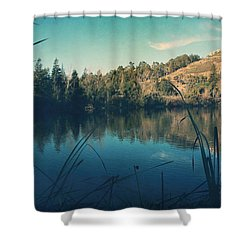 Passing The Day Away Shower Curtain by Laurie Search