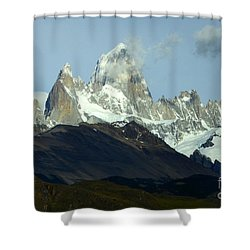 Patagonia Mount Fitz Roy 1 Shower Curtain by Bob Christopher