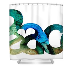 Peace Full 13 Shower Curtain by Sharon Cummings