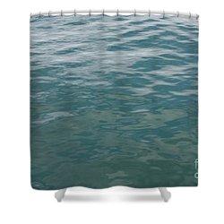 Peaceful Water Shower Curtain by Carol Groenen