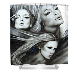 'pearl Passions' Shower Curtain by Christian Chapman Art