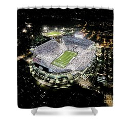 Penn State Whiteout Shower Curtain by Amesphotos