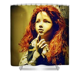 Pensive Mannequin Shower Curtain by Halifax Photography John Malone