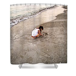 Perfect Company Shower Curtain by Sharon Cummings
