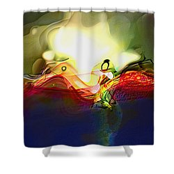 Performance Shower Curtain by Richard Thomas