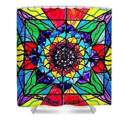 Personal Expansion Shower Curtain by Teal Eye  Print Store