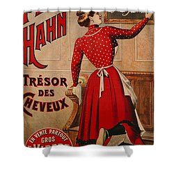 Petrole Hahn Shower Curtain by Boulanger Lautrec