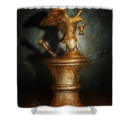 Pharmacy - Pestle - Proud Pharmacists  Shower Curtain by Mike Savad