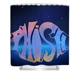 Phish Shower Curtain by Bill Cannon