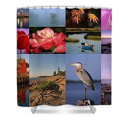 Photographing Light Shower Curtain by Juergen Roth