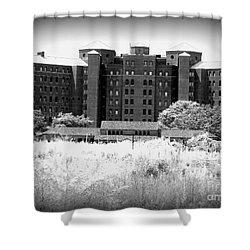Pilgrim State Psychiatric Hospital Shower Curtain by Ed Weidman