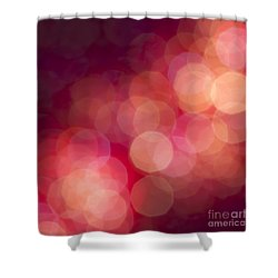 Pink Champagne Shower Curtain by Jan Bickerton