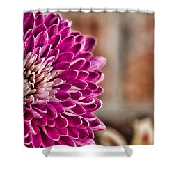 Pink Mum Shower Curtain by Lana Trussell