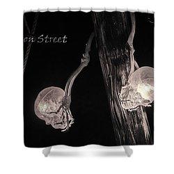Pirate Mast Lights Shower Curtain by LeeAnn McLaneGoetz McLaneGoetzStudioLLCcom