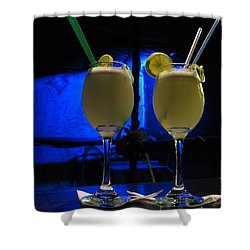 Pisco Sour In Puno Shower Curtain by RicardMN Photography