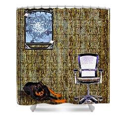 Place Shower Curtain by Daniel Janda