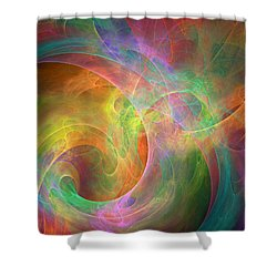 Placeres-04 Shower Curtain by RochVanh