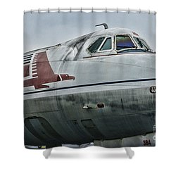 Plane Capital Airlines Shower Curtain by Paul Ward