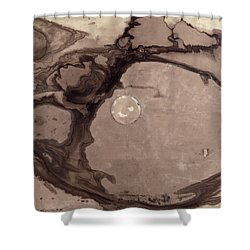 Planets Shower Curtain by Victor Hugo