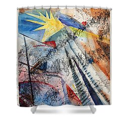 Point Of View Shower Curtain by Mary Benke