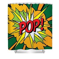Pop Art 4 Shower Curtain by Gary Grayson