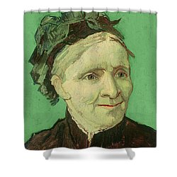 Portrait Of The Artist's Mother Shower Curtain by Vincent van Gogh