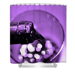 Pour Wine Shower Curtain by Toppart Sweden