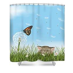 Prato In Fiore Shower Curtain by Veronica Minozzi