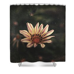Presence Shower Curtain by Taylan Apukovska