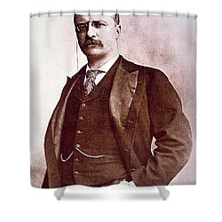 President Theodore Roosevelt Shower Curtain by American School