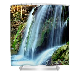 Price Falls 4 Of 5 Shower Curtain by Jason Politte