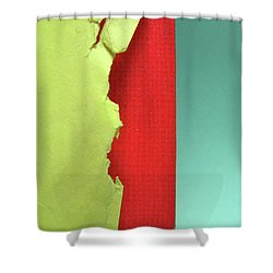 Primary Shower Curtain by CML Brown