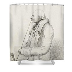 Prince Blucher Shower Curtain by Samuel Freeman