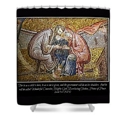 Prince Of Peace Shower Curtain by Stephen Stookey