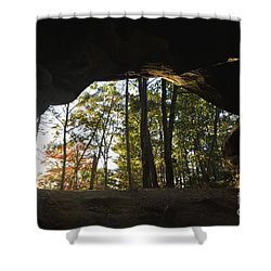 Princess Arch Starburst - D003133 Shower Curtain by Daniel Dempster
