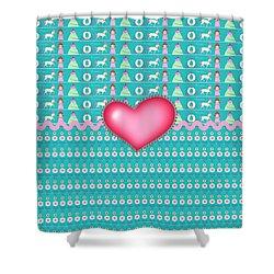 Princess Shower Curtain by Debra  Miller