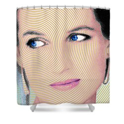 Princess Lady Diana Shower Curtain by Tony Rubino