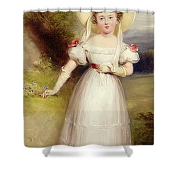 Princess Victoria Shower Curtain by Stephen Smith