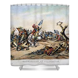 Princeton: Washington Shower Curtain by Granger