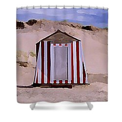 Privacy Shower Curtain by John  Malone