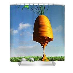 Prizewinner Shower Curtain by Cynthia Decker
