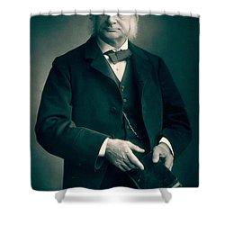 Professor Thomas H Huxley Shower Curtain by Stanislaus Walery