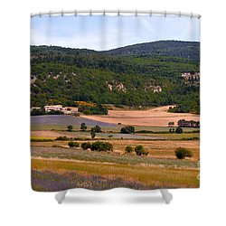 Provence Landscape Shower Curtain by Bob Phillips