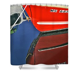 Provincetown Harbor Reflection Shower Curtain by Allen Beatty