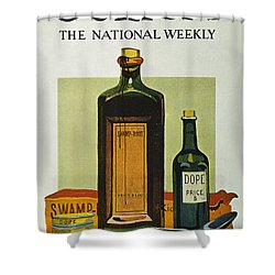 Pure Food Act, 1912 Shower Curtain by Granger