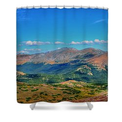 Pure Joy Shower Curtain by Kathleen Struckle
