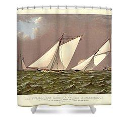 Puritan Boston Shower Curtain by Gary Grayson