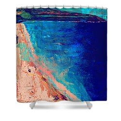 Pv Abstract Shower Curtain by Jamie Frier